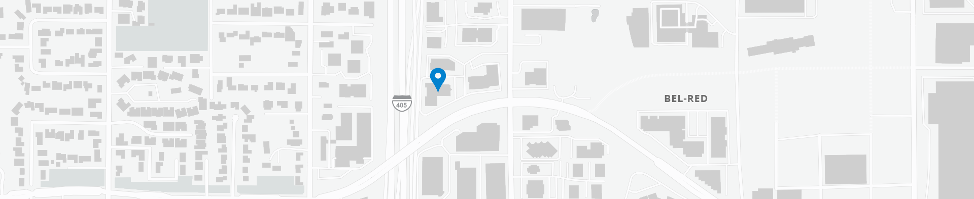 Google Map of 1417 116th Ave NE,Bellevue, 98004