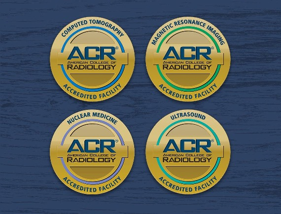 American College of Radiation accreditation logos