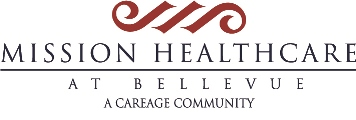 Mission Health Care Bellevue logo