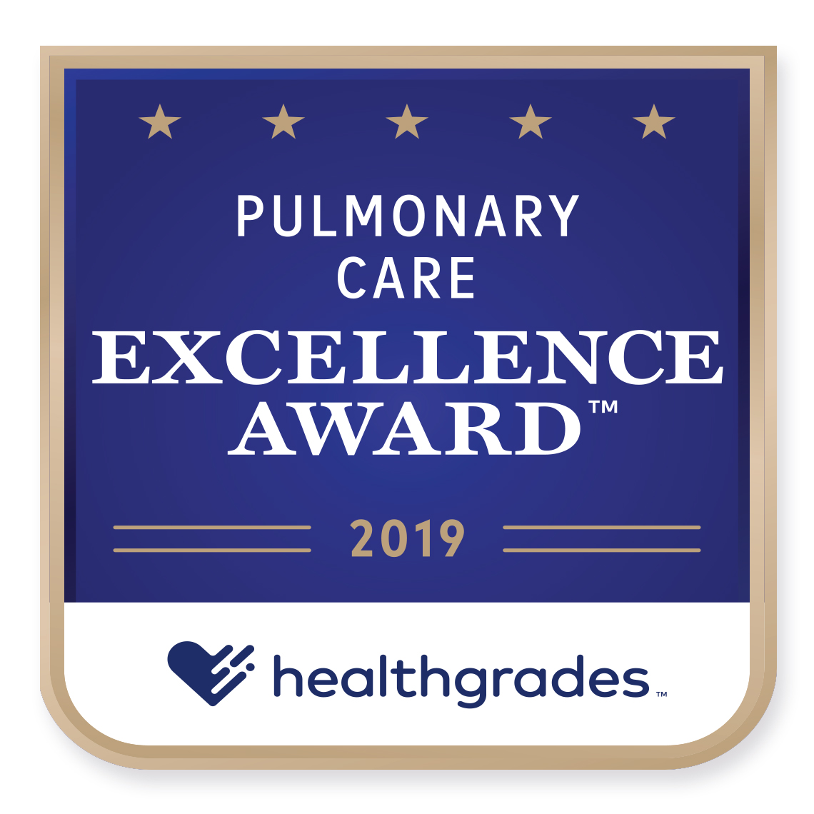 Pulmonary Care Healthgrades Award 2019