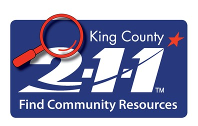 King County 211 logo