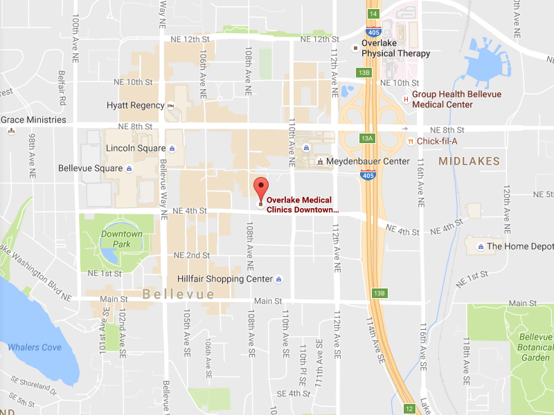 Overlake Medical Clinics Primary Care Downtown Bellevue Overlake